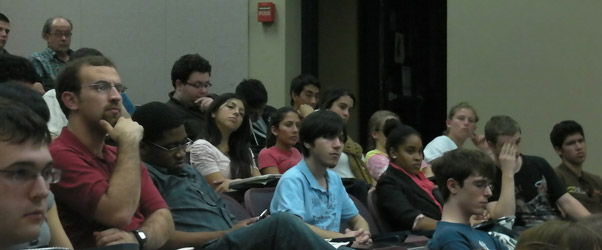 Attendees from the November 14, 2011 program