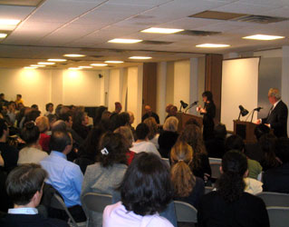 Prof. Talat S. Halman - Rumi Event, NY Turkish Center, 2004