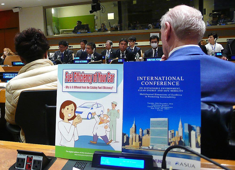 EcoDrive International Conference at the United Nations