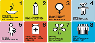 The 2000 United Nations Eight Millennium Development Goals