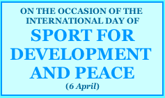 PEACE FOR DEVELOPMENT AND PEACE