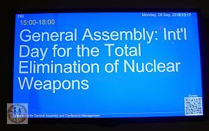 2016 UN HL Informal International Day for the Total Elimination of Nuclear Weapons