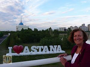 AS IF BEING IN THE FUTURE: ASTANA