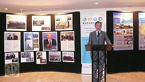 KAZAKHSTAN: UNITED FOR GLOBAL SECURITY - UN Photo Exhibit - Opened April 28, 2016