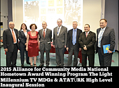 MDGs & ATATURK - 2015 National Hometown Video Awards