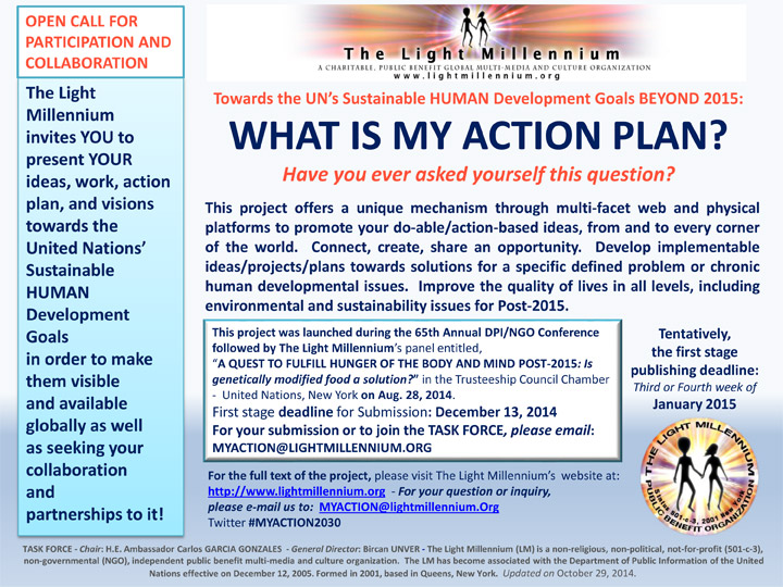 WHAT IS MY ACTION PLAN?